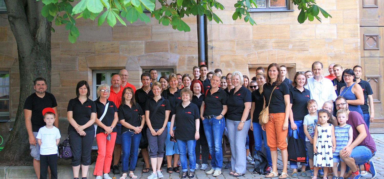 Zusammen helfen - ESW-Social Day in Fürth